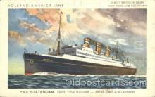 shi010067 - S.S.Statendam Holland - American Line, Lines, Liner, Ship Ships Postcard Postcards