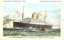 shi010069 - S.S. Rotterdam Holland - American Line, Lines, Liner, Ship Ships Postcard Postcards