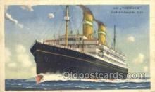 shi010081 - TSS Veendam Holland - America Line, Steamer, Steam Boat, Ship Ships, Postcard Postcards