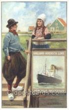 shi010089 - Marken Holland - America Line, Steamer, Steam Boat, Ship Ships, Postcard Postcards