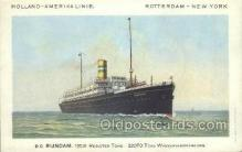 shi010106 - TSS Veendam Holland - America Line, Steamer, Steam Boat, Ship Ships, Postcard Postcards