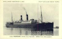 shi010107 - DD Rijndam Holland - America Line, Steamer, Steam Boat, Ship Ships, Postcard Postcards