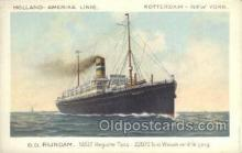 shi010111 - DD Rijndam Holland - America Line, Steamer, Steam Boat, Ship Ships, Postcard Postcards