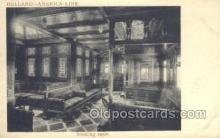 shi010114 - Holland American Line Holland - America Line, Steamer, Steam Boat, Ship Ships, Postcard Postcards