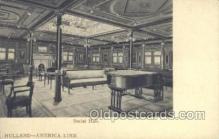 shi010116 - Holland American Line Holland - America Line, Steamer, Steam Boat, Ship Ships, Postcard Postcards