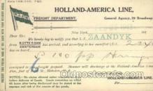 shi010117 - Holland American Line Holland - America Line, Steamer, Steam Boat, Ship Ships, Postcard Postcards