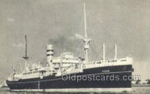 shi010160 - SS Edam Holland - America Line, Steamer, Steam Boat, Ship Ships, Postcard Postcards