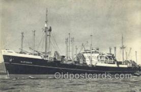 shi010161 - Holland American Line Holland - America Line, Steamer, Steam Boat, Ship Ships, Postcard Postcards