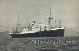 shi010162 - Holland American Line Holland - America Line, Steamer, Steam Boat, Ship Ships, Postcard Postcards