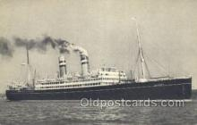 shi010164 - SS Voldendam Holland - America Line, Steamer, Steam Boat, Ship Ships, Postcard Postcards