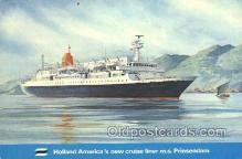 shi010168 - MS Prinsedam Holland - America Line, Steamer, Steam Boat, Ship Ships, Postcard Postcards