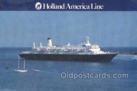shi010172 - Holland American Line Holland - America Line, Steamer, Steam Boat, Ship Ships, Postcard Postcards