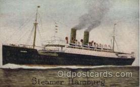shi011046 - Steamer Hamburg -American Line