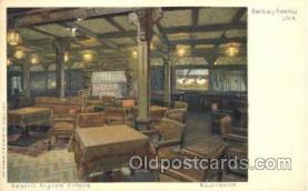 shi011054 - Kaiserin Auguste Victoria Rauchsalon Hamburg America Line, Lines, Ocean Liner, Ship Ships Postcard Postcards