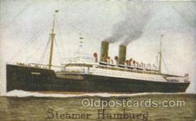 shi011066 - Steamer Hamburg Hamburg America Line, Lines, Ocean Liner, Ship Ships Postcard Postcards