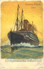 shi011083 - Doppelschrauben - Postdrampfer America Hamburg America Line, Lines, Ocean Liner, Ship Ships Postcard Postcards