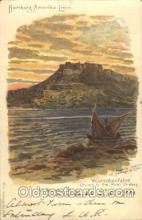 shi011087 - Westindienfahrt Hamburg America Line, Lines, Ocean Liner, Ship Ships Postcard Postcards