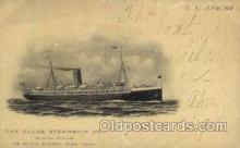shi012013 - S.S. Apache The Clyde Steamship Company, Postcard Postcards