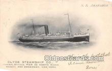 shi012018 - SS Arapahoe Clyde Steamship Co, New York USA Ship Postcard Post Card