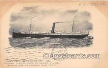 shi012020 - SS Comanche Clyde Steamship Co, New York USA Ship Postcard Post Card