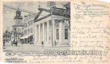 shi012028 - Street in Jacksonville, Vlyde Steamship Co Jacksonville, Florida USA Ship Postcard Post Card