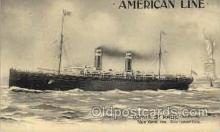 shi013004 - U.S.Mail Steamer St. Paul, American Line Ship Ships Postcard Postcards