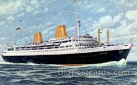 shi014004 - Europa, Norddeutscher Lloyd Ship Ships Postcard Postcards