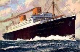 shi014005 - Columbus, Norddeutscher Lloyd Ship Ships Postcard Postcards