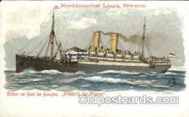 shi014008 - Friedrich der Grosse Ship Ships Ocean Liner Postcard Postcards