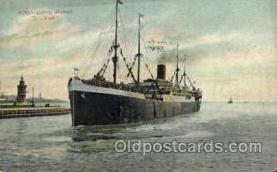 shi014010 - D, ,, Main Ship Ships Ocean Liner Postcard Postcards