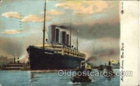 shi014014 - Kaiser Wilhelm II Ship Ships Ocean Liner Postcard Postcards