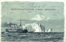 shi014016 - Bei Den Needles Ship Ships Ocean Liner Postcard Postcards