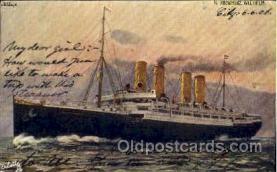 shi014018 - Kronprinz Wilhelm Ship Ships Ocean Liner Postcard Postcards