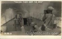 shi015038 - U.S.S. Frederick Military Ship Real Photo Ships Postcard Postcards
