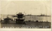 shi015039 - U.S.S. Frederick & Piisburg Military Ship Real Photo Ships Postcard Postcards
