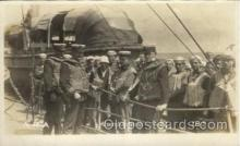 shi015047 - U.S.S. Frederick Military Ship Real Photo Ships Postcard Postcards