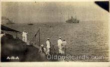 shi015056 - U.S.S. Frederick Military Ship Real Photo Ships Postcard Postcards