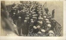 shi015079 - U.S.S. Frederick Military Ship Real Photo Ships Postcard Postcards