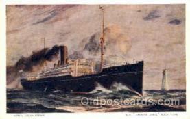 shi017077 - S.S. Kashima Maru Nippon Yusen Kaisha, NYK Shipping Ship Postcards