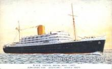 shi018009 - R.M.S. Andes Royal Mail Lines, Line Ship Ships Postcard Postcards
