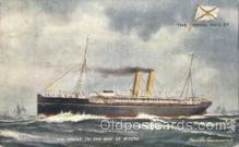 shi018012 - S.S. Trent in the Bay of Biscay Royal Mail Lines, Line Ship Ships Postcard Postcards
