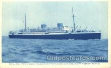 shi018014 - Motor Vessel Alcantara, South America Service Royal Mail Lines, Line Ship Ships Postcard Postcards