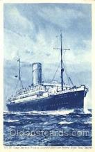 shi018015 - Ocean Cruising Steamer Araguaya Royal Mail Lines, Line Ship Ships Postcard Postcards