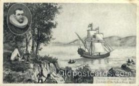 shi020015 - Henry Hudson Sail Ship Ships Postcard Postcards