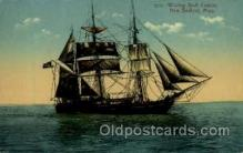 shi020039 - Whaling Back Canton, New Bedford, Mass, USA Sail Ship Ships Postcard Postcards