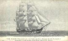 shi020043 - The Niger Sail Ship Ships Postcard Postcards