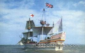 shi020063 - Susan Constant II Sail Boat, Boats Postcard Postcards