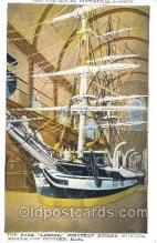 shi020073 - Lagoda Jonathan Bourne Whaling Museum,New Bedford,Mass,USA Sail Boat, Boats Postcard Postcards