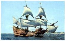 shi020079 - Mayflower II Sail Boat, Boats, Postcard Postcards