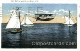 shi020086 - Atlantic city, N.J., New Jersy, USA Sail Boat, Boats, Postcard Postcards